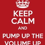 Pump up the volume !