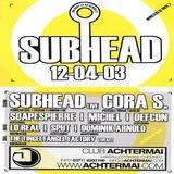 Subhead (Dj Set) @ Achtermai Chemnitz - 12.04.2003
