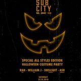 Sub City All Styles Edition Teaser Mix by William J [DarkerThanWax]