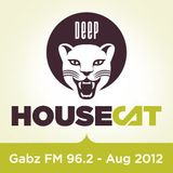 Deep House Cat - Gabz FM 96.2 Botswana - 96 Minute Mix - August '12