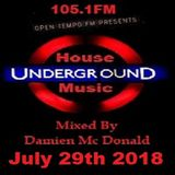 Opentempo Underground House Music Mix Show 29/07/2018