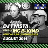DJ Twista & MC B-Kind - Jump Up DNB - on Rough Tempo - August 2014