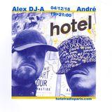 Alex dja invite André - 04/12/18