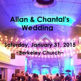 Allan & Chantal's Wedding - January 31, 2015 - Part 1