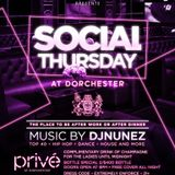 Social Thursday Mix (prive dorchester)