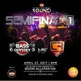 Code Red Sound Vs Bass Odyssey sound (BoomClash Semi Final) april 2017