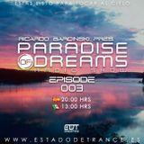 Ricardo barcinski Presents. Paradise Of Dreams Radio Show EP 003