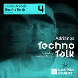SASCHA BARTH Guest Mix @ADRIANO'S TECHNO TALK - 11th October 2018