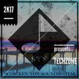 """STS Schicken Ton Soundsystem """"TECHZONE"""" July 2K17"""
