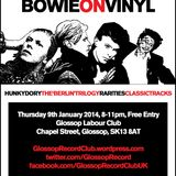 Glossop Record Club: BOWIE ON VINYL (January 2014)