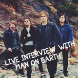 LIVE INTERVIEW WITH MAN ON EARTH