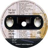 Lost Tape '89 Disco - Tom Lenz