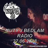 Nuty J Bedlam Radio 27.06.2018 Nice liquid vibes for you x