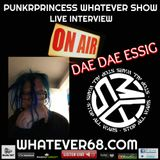 PunkrPrincess Whatever Show live with Dae Dae Essig recorded live 5.20.20 on whatever68.com