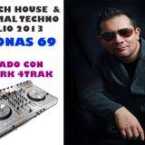 DJ JONAS 69 SET TECH HOUSE Y MINIMAL TECHNO JULIO 2013 GRABADO CON NUMARK 4TRAK