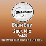 DJ GlibStylez - Boom Bap Soul Mix Vol.33 (Chilled Hip Hop & Soul)