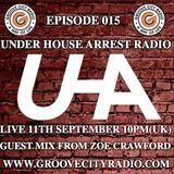 Under House Arrest Radio - Guest Mix by DJ Zoe Crawford