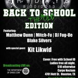 Matthew Dunn live @ FULLY LOADED: BACK TO THE OLD SCHOOL 8-30-2013