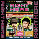 2019.04.12 RIGHT HERE LIVE MIX - DJ MAKOTO (ROIVER-1) & LUKE 2st Turn