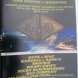 Mampi Swift with Fearless, Skibadee & Shabba at One Nation & Warning (March 2000)