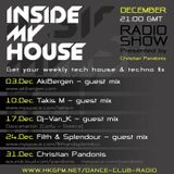 """Guest Mix for Christian Pandonis """"Inside My House"""" Radio Show 10-12-2011"""