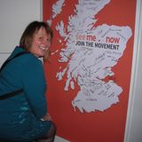 Volunteers interview 'See Me' director Judith Robertson
