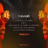 19-6-2018 Dj Set b2b Athos & Lavigne en Bahrein Parte 1