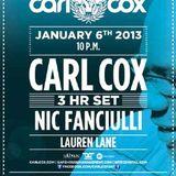 Carl Cox & Nic Fanciulli - Live @ The BPM Festival 2013, Blue Parrot, México (06.01.2013)