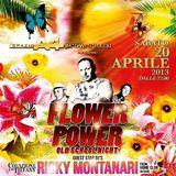 Ricky Montanari @ Flower Power (at Spazio A4), Santhià (VC) - 20.04.2013