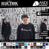 Electrik Playground 29/4/17 inc Autograf Guest Session