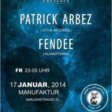 Patrick Arbez Liveact @ Manufaktur Karlsruhe 2014