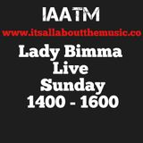 Lady Bimma mixing up the Drums and the Bass for the 1st half then cruises into some House on #IAATM