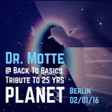 Tribute to 25 Years of Planet at Back To Basics Berlin 2/1/2016 Part 1