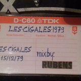 Les Cigales Dj Rubens 15-12-1979