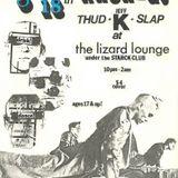 THUD SLAP with JEFF K 01.28.1989 KNON 89.3 FM DALLAS
