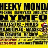 MR MULTIPLEX (LAST DJ SET) MC KNOWLEDJE 23-12-2013 CHEEKY MONDAY