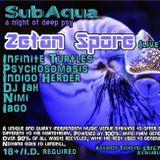 Indigo Herder DJ set SubAqua supporting Zetan Spore 21/10/17