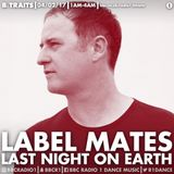 "Sasha - Live at B.Traits, Label Mates ""Last Night on Earth"", BBC Radio 1 (04-02-2017)"