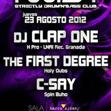 C-Say @ Twist Club (23/8/12) Jump Up Mix