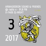 @ X-Fade DJ-Night - 07.03.17 ls Fisherman & Jinjaman
