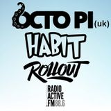 OCTO PI, HABIT & ROLLOUT - recorded live on Radioactive.fm 1/1/19 - Drum & Bass mix