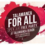 Miss Kittin b2b Oxia live @ Talamanca For All (Talamanca Beach, Ibiza) – 11.09.2015