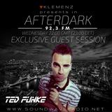 AfterDark House hosted by kLEMENZ on SOUNDWAVE RADIO 92,3 FM (30.11.2016) guest DJ TED FUNKE