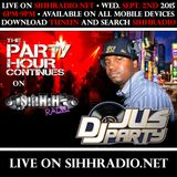 "Dj JusParty ""LIVE"" On @SIHHRADIO (Sept. 2nd)"