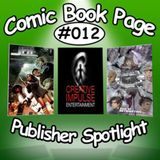 """The ComicBookPage Podcast """"Justice For Hire"""" interview w/ John Machado, Jan Lucanus, Patrick Brennan"""