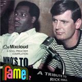 Who's to fame? A tribute to Rick Hall (Muscle Shoals)