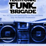 Episode 35: Techtonic Funk Brigade w guest Erin Paul of discObeta on @NSBRadio Nov. 29, 2013