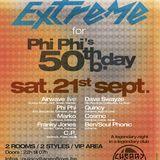 dj Franky Jones @ Cherry Moon - Extreme for PhiPhi's 50th bday 21-09-2013