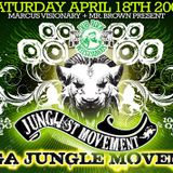 Mr. Brown LIVE @ Junglist Movement w/ Caddy Cad and Lucky G