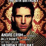 Andre Crom's dj set recorded at Drama's 6th Birthday